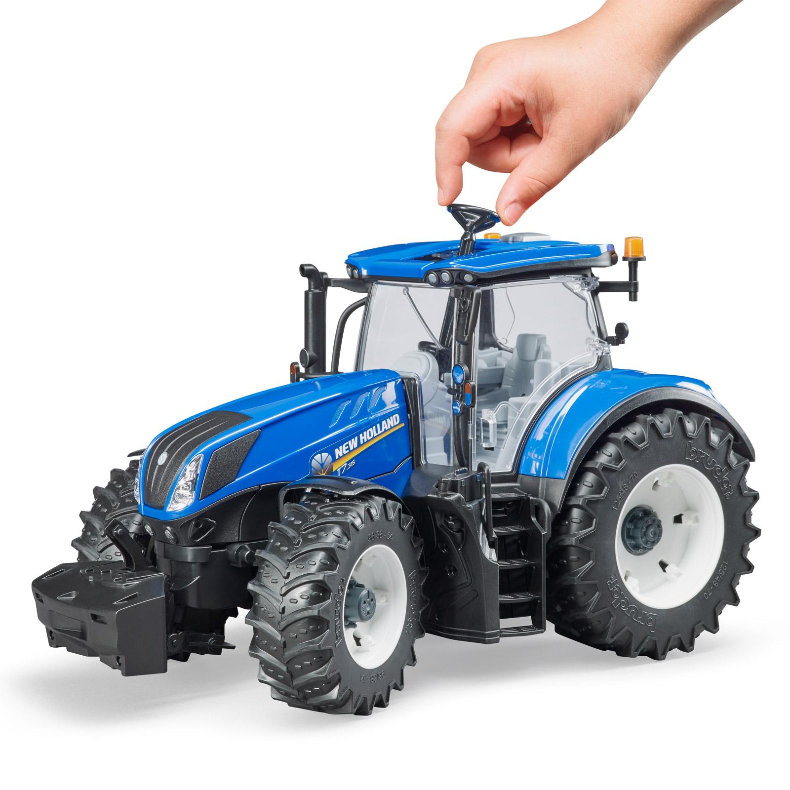 Bruder kinder spielzeug traktor new holland t