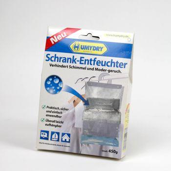 Schrank-Entfeuchter 450g Luftentfeuchter gegen Schimmel und Modergeruch Hängetasche