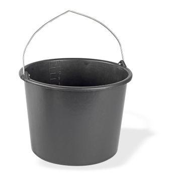 Baueimer Baukübel Mörteleimer Mörtelkübel Zementkübel Zementeimer 12 Liter – Bild 1