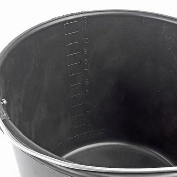 Baueimer Baukübel Mörteleimer Mörtelkübel Zementkübel Zementeimer 12 Liter – Bild 2