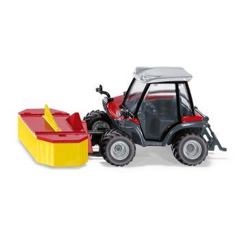 SIKU Spielzeug Traktor Kommunalfahrzeug Mähfahrzeug Aebi TerraTrac TT211 / 3068