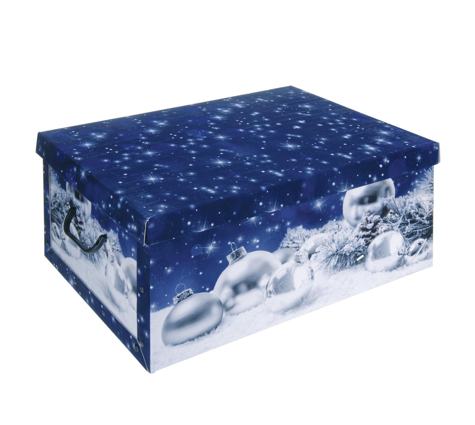 Weihnachten Dekoration Dekobox mit Deckel Geschenkkarton