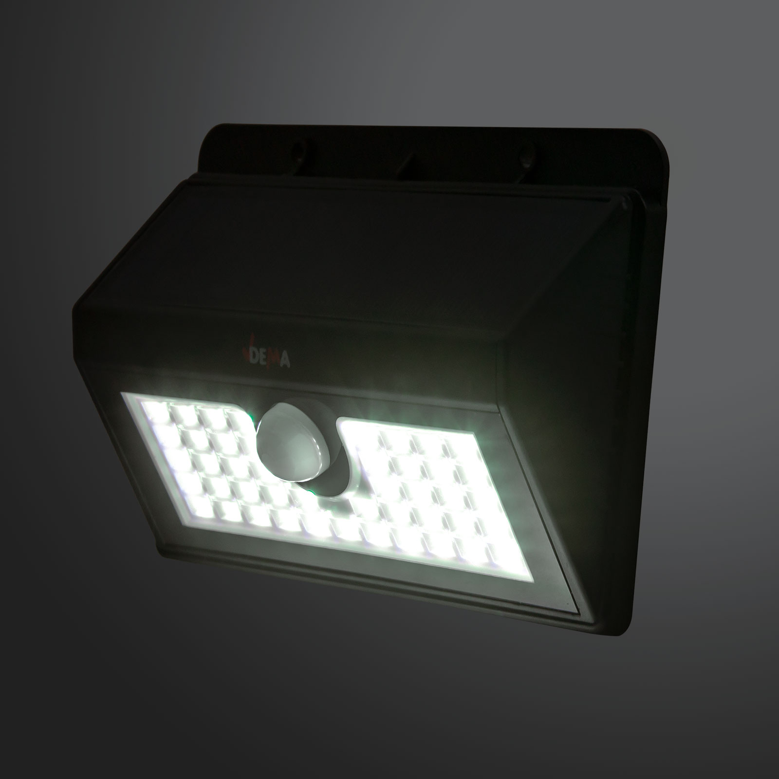 led sensor leuchte akku solar bewegungsmelder au enleuchte solarleuchte 300 lm. Black Bedroom Furniture Sets. Home Design Ideas