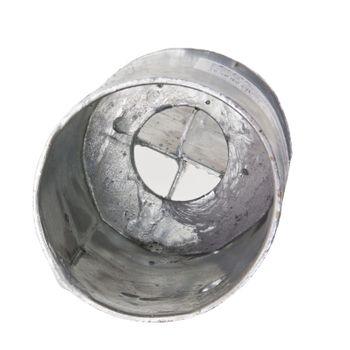 Pfosten - Einschlagbodenhülse Einschlaghülse Bodenhülse Pfostenträger rund – Bild 4