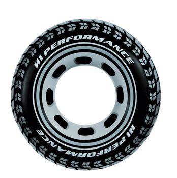 Intex Schwimmring Ring Schwimmreifen Reifen Autoreifen ca. Ø 91cm XL Badespaß – Bild 1