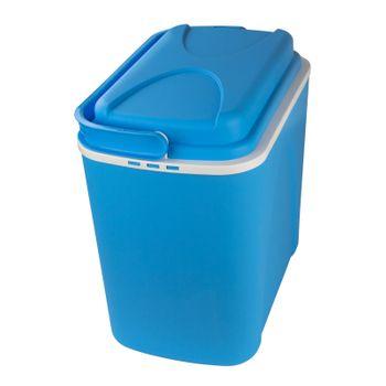 Kühlbox 24 Liter Kühltasche Thermobox Camping Picknick mit Griff blau  – Bild 4