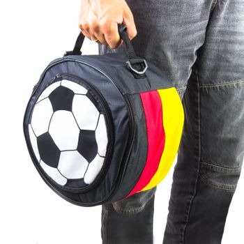 Picknick Grill Holzkohlegrill to go mit Tasche Kühltasche Deutschland 2 in 1 – Bild 5