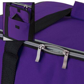 Kühltasche Thermotasche Isoliertasche Campingtasche Schultertasche 32 L lila – Bild 5