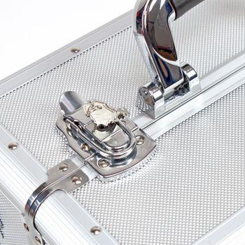 Alu Werkzeugtrolley Werkzeugkoffer Trolley Werkzeug Koffer Alutrolley 3in1 – Bild 6