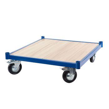 Transportwagen Plattformwagen Transportroller Rollbrett Basic 72x69 cm b. 150 kg – Bild 1