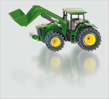 SIKU Spielzeug John Deere 8530 Traktor mit Frontlader Spielzeugtraktor / 1982 – Bild 1