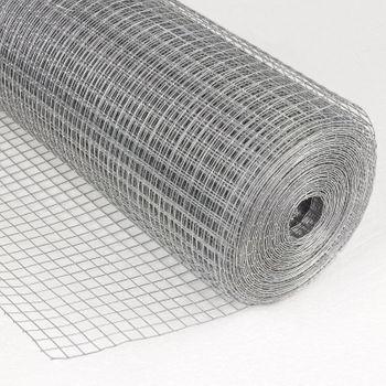 Drahtgitter Drahtgeflecht Maschendraht Hasendraht Zaun 4eck 13mm 0,5x10m verz. – Bild 2
