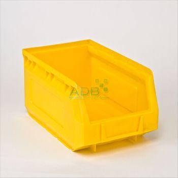 Lagersichtkasten Stapelbox Sichtlagerbox blau rot gelb 1 · 2 · 3 · 5 · 6 · 7 · 8 – Bild 3