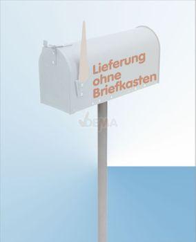 Ständer für American Mailbox silber – Bild 3