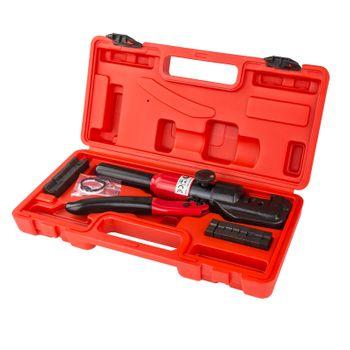 Hydraulische Presszange Crimpzange 4-70 mm² für Kabelschuhe Aderendhülsen Zange – Bild 2