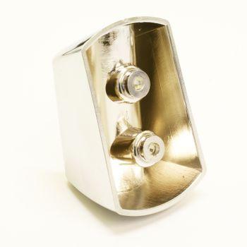 Kunststoff Brausehalter Duschkopfhalter Brausehalterung – Bild 2