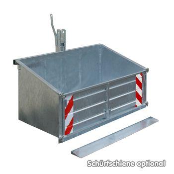 Traktor Schlepper Heckcontainer Heckmulde Container Mulde für 200kg 120cm verz. – Bild 6