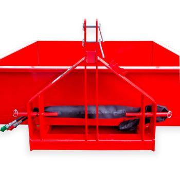 Heckcontainer / Kippmulde Kat 1 + 2 hydraulisch 125x200x40 Transportmulde Mulde – Bild 4