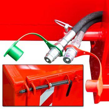 Heckcontainer / Kippmulde Kat 1 + 2 hydraulisch 125x200x40 Transportmulde Mulde – Bild 5