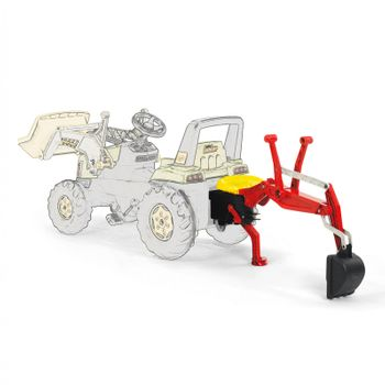 Rolly Toys Kinder Spielzeug Heckbagger Bagger Traktor Anbauheckbagger / 409327