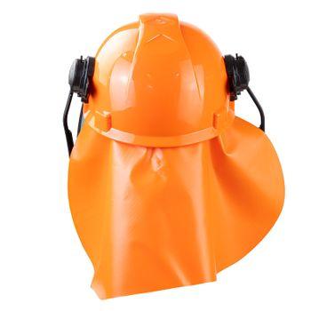 Forsthelm Sicherheitshelm Helm mit Gesichtsschutz Gehörschutz Nackenschutz – Bild 5