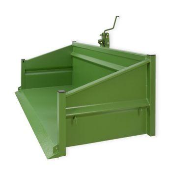 Heckcontainer Heckmulde 1800S grün 180x104x103 cm kippbar NEU 52019 – Bild 3