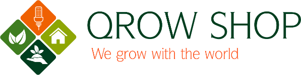 LED-Grow-Lampe für Pflanzen bei QrowShop ab 49€  inkl. Versand!