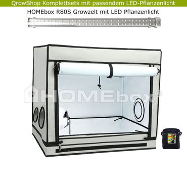 HOMEbox R80S – LED-Komplettset mit Growbox – Bild 1