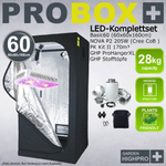 LED-Komplettset Basic60 - NOVA P2 205W LED-Pflanzenlicht-SET 001