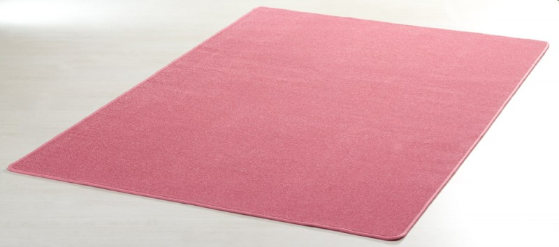 Teppich rosa  Designer Teppich Nasty Floor | Kurzflor Pink/Rosa Teppiche ...