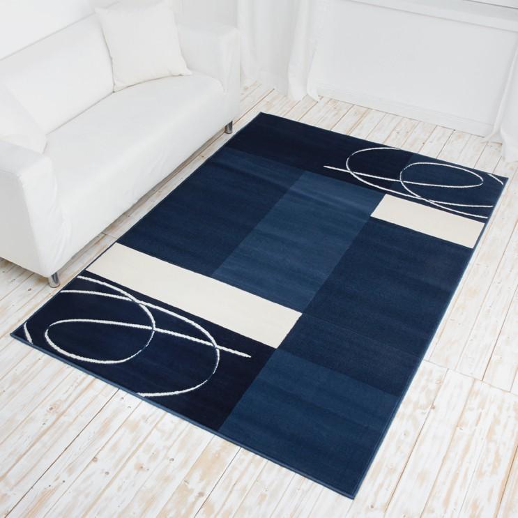 designer teppich tony velours kurzflor terracotta beige. Black Bedroom Furniture Sets. Home Design Ideas