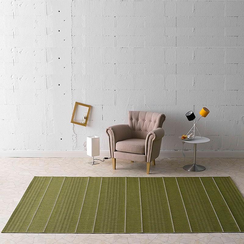In /& Outdoor Flachgewebe Teppich Fürth grün102029