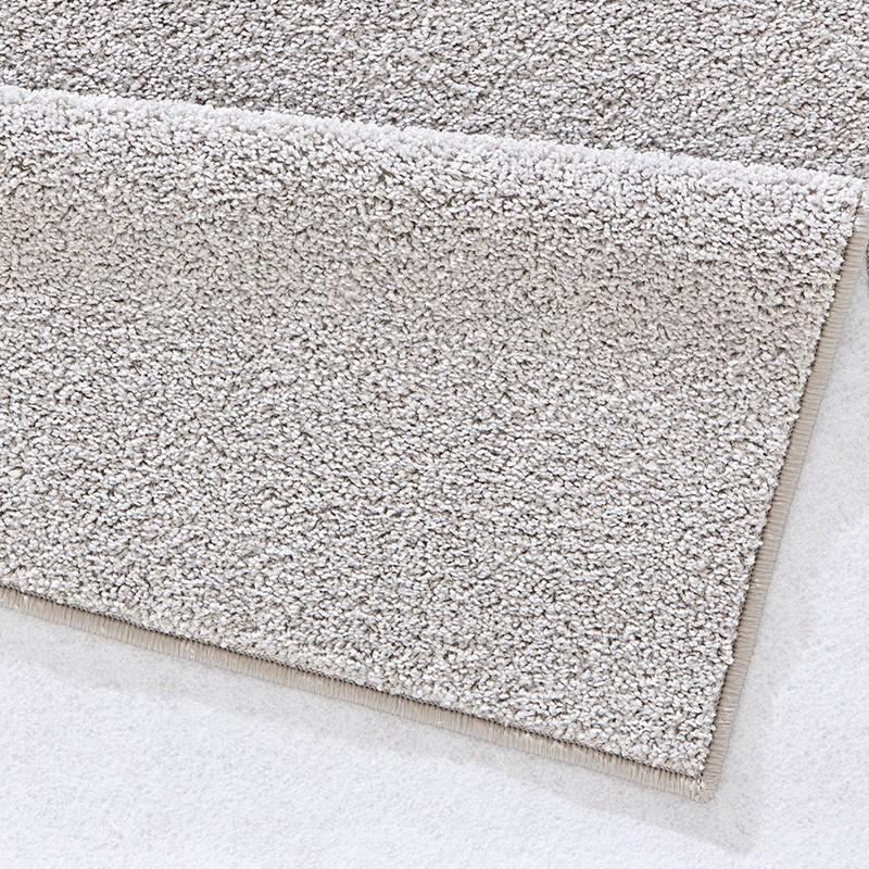 Crespo alfombra pure gris liso uni ebay for Alfombra terciopelo