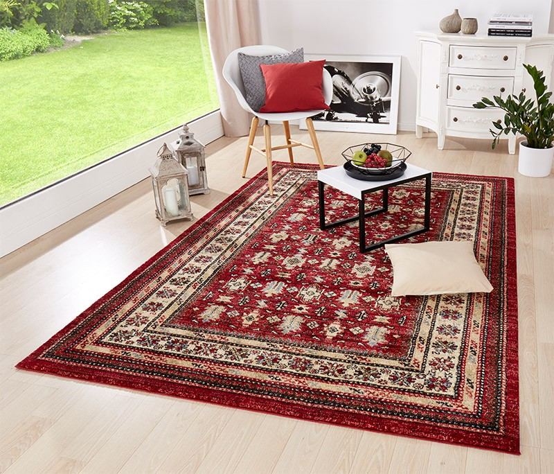Design Teppich Insigne Orient Design Rot Teppich Boss