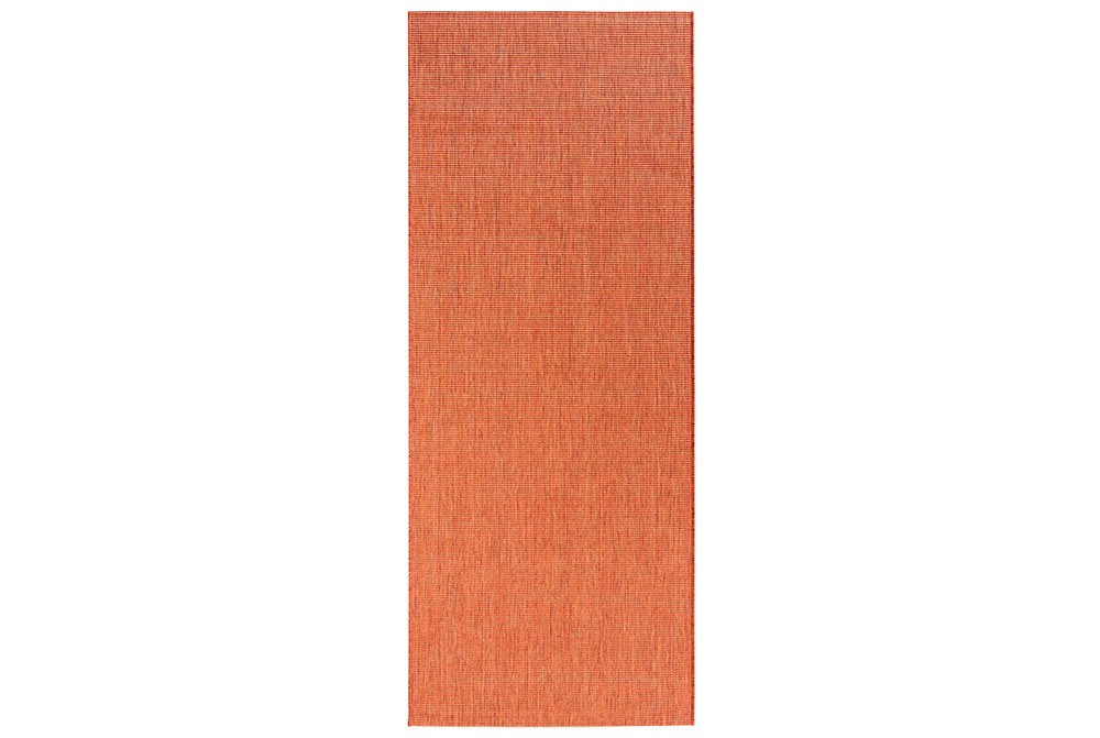 Design In Und Outdoorteppich Flachgewebe Match Terracotta Teppich