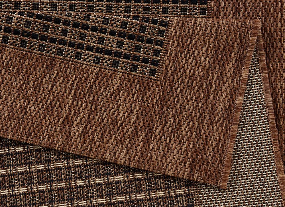 dcfd071178b8 amazing design teppich flachgewebe simple mit bordre dunkelbraun with  dunkelbraun
