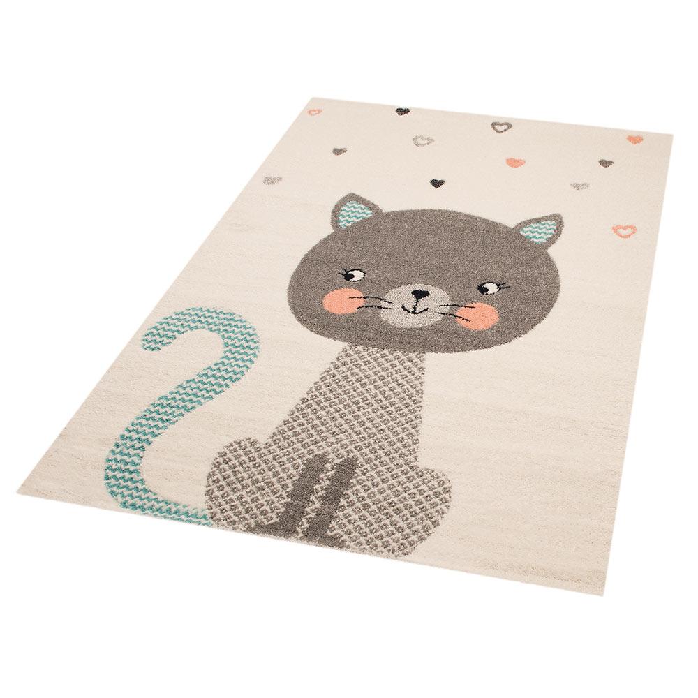 Liebenswert Kinderteppich Dekoration Von Spielteppich Cat Alex 120x170 Cm | Teppich