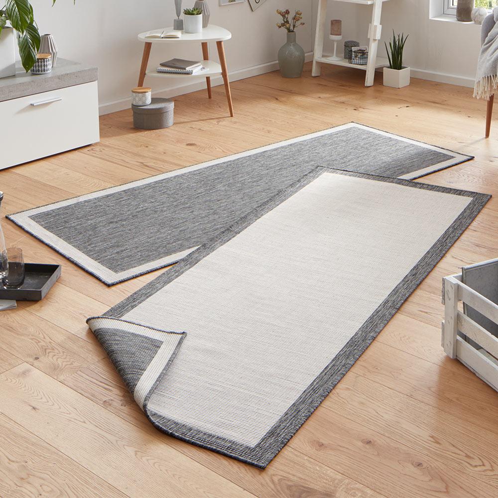 wendeteppich panama creme grau in outdoor teppich boss. Black Bedroom Furniture Sets. Home Design Ideas