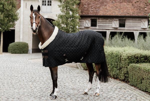 Kentucky Horsewear Turnierdecke 160g - schwarz