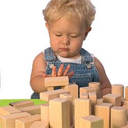 Bauklötze für Kleinkinder