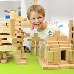 Holzbausteine-Sets ab 5 Jahre
