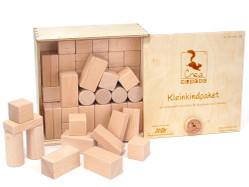 Kleinkindpaket (54 unbehandelte Bauklötze)
