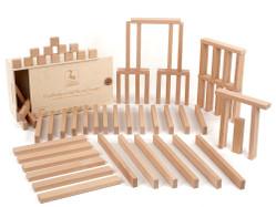 Holzbausteine Ergänzungspaket flache Quader (72 Bauklötze in Quaderform)