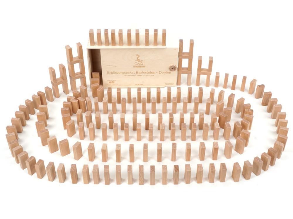 Dominoklötze-Set (180 Basissteine 1,6 x 3,2 x 6,4 cm)