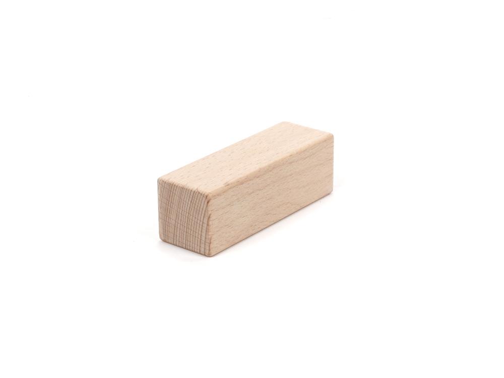 Holzbausteine Dreifachwürfel 9,6 cm