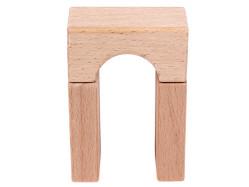Holzbausteine Brückenelement