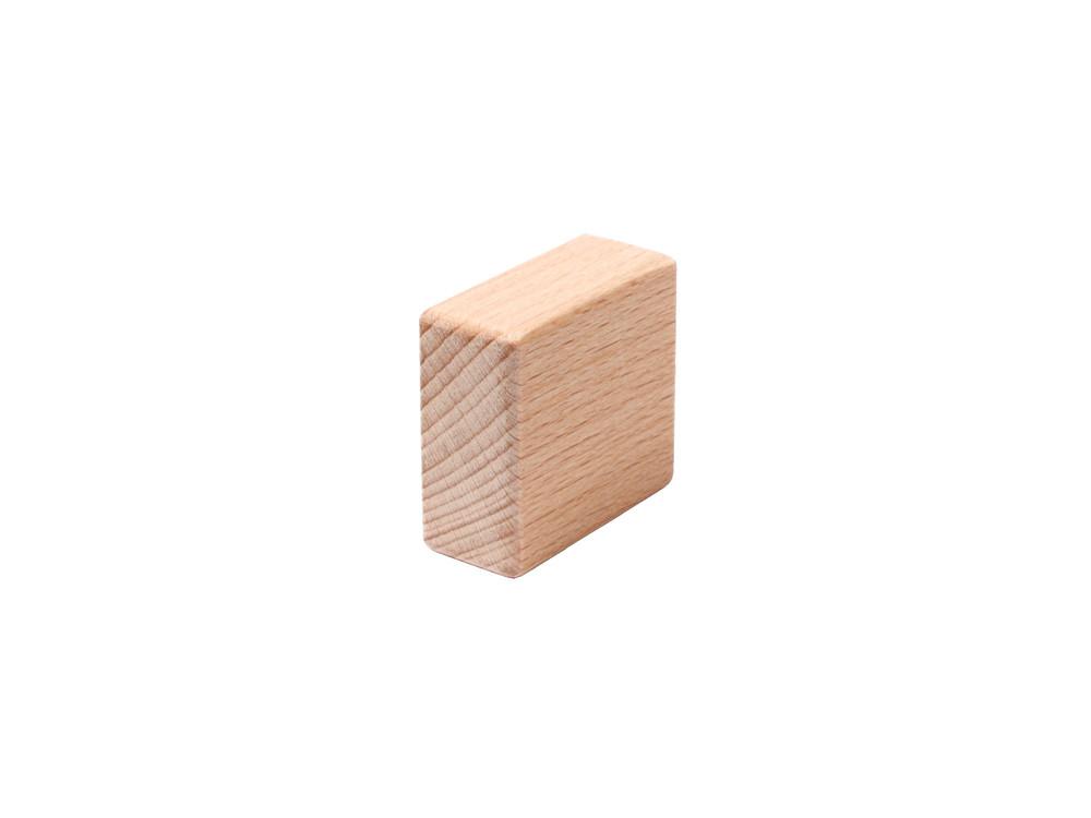 Bauklötze halber Basisstein 3,2 cm