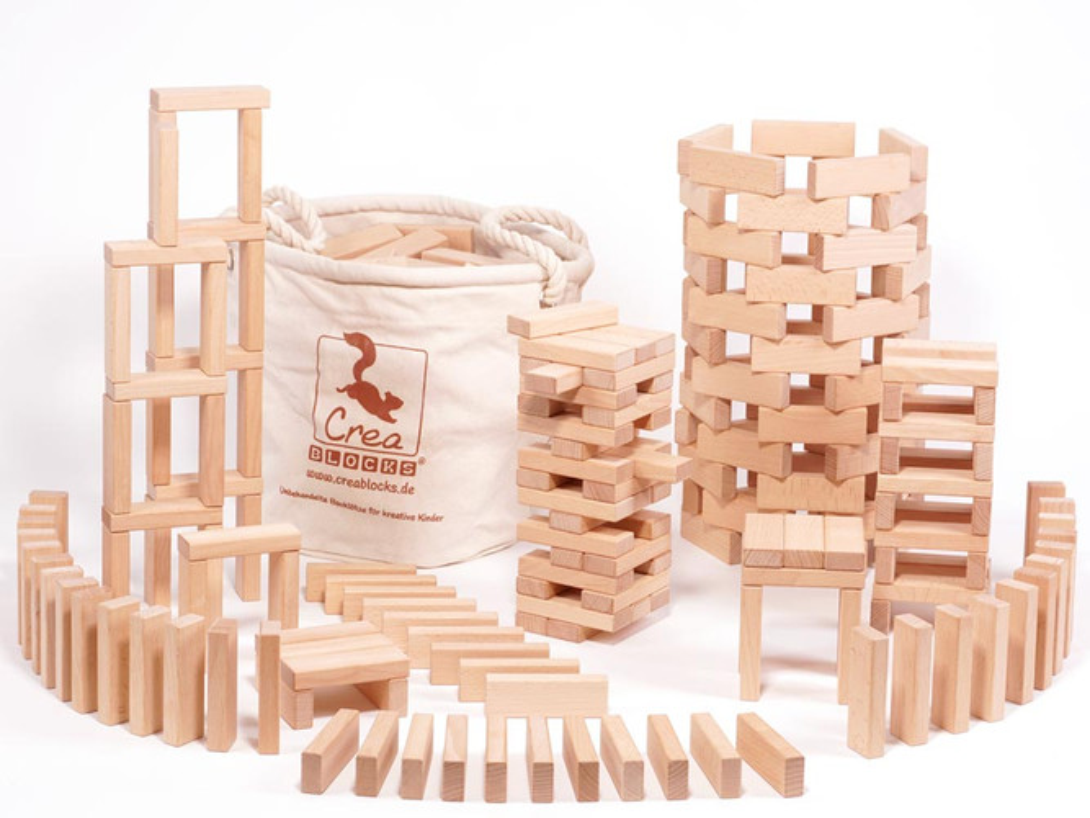 Kreativ-Set 200 im robusten Baumwollsack