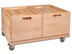 Holzbausteine - Kita-Paket II (146 Riesenbausteine)