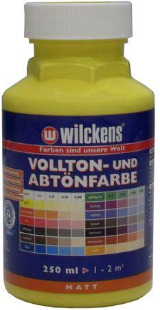 WILCKENS Voll- und Abtönfarbe GELB Matt LF 0,25 Liter